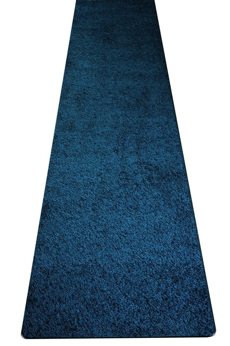 Hochflor Teppich Shaggy Gelb Läufer     Prüfsiegel  Blauer Engel   100 % Polypropylen  viele Größen und Farben erhältlich   pflegeleicht und strapazierfähig, Farbe Schlamm-Braun, Größe 80 x 500 cm B00USS21A6 Luf d90471
