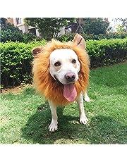 PBPBOX Löwe Mähne Löwenmähne Hundekostüm mit offenen Ohren für Weihnachten oder Kleidung Festival
