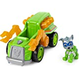 PAW Patrol, Mighty Pups Super PAWs Rocky's Deluxe Vehicle with Lights and Sounds