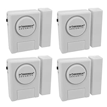 Amazon.com : Window/Door Alarm Kit - 4 Pack : Home Security ...