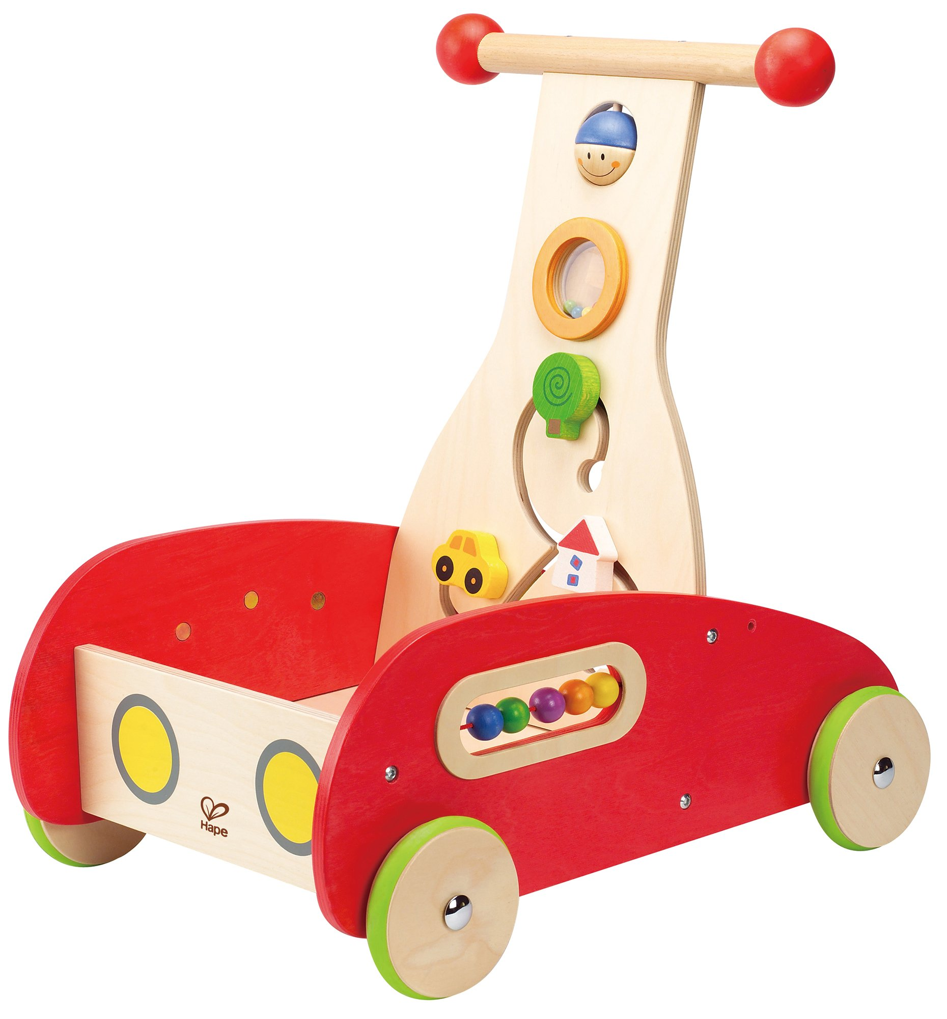 Hape Award Winning Wonder Walker Push and Pull Toddler Walking Toy