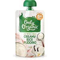 Only Organic Creamy Rice Pudding  8+ Months - 120g