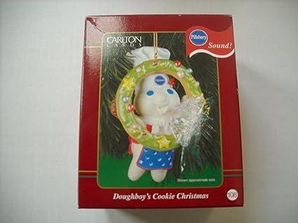 Amazon Com Pillsbury Doughboy Doughboy S Cookie Christmas Ornament