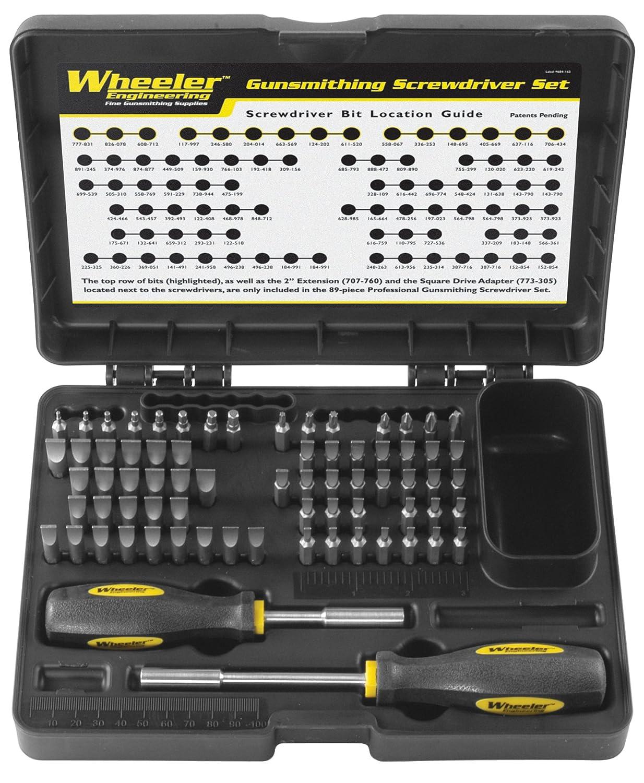 Wheeler Gunsmithing Screwdriver Kit (72-Piece) 776737