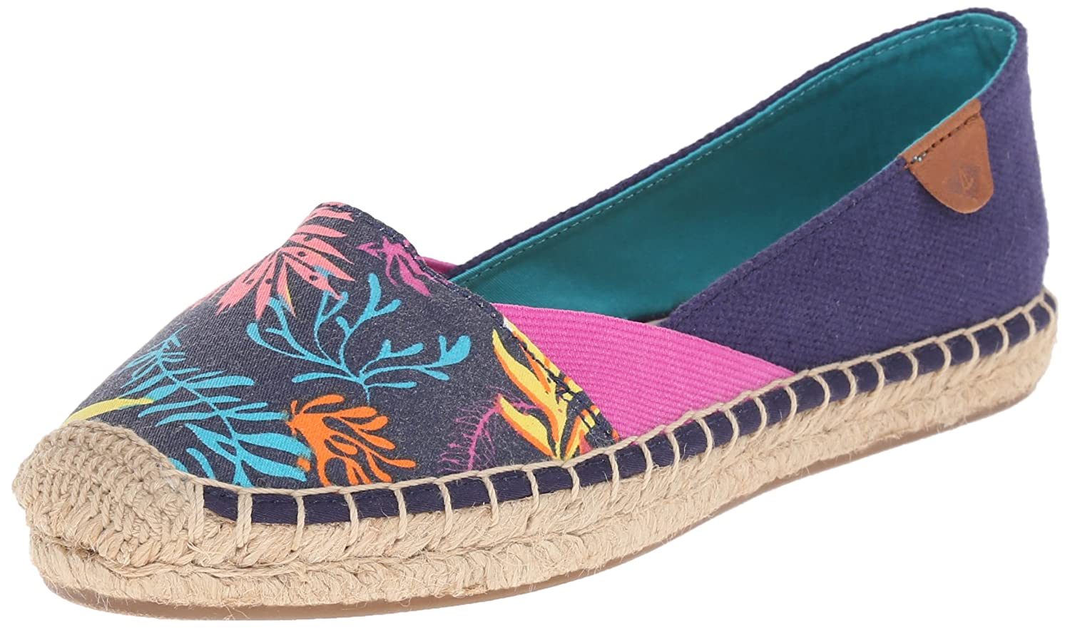 Sperry Top-Sider Women's Katama Cape Ballet Flat B01015RYKM 7.5 B(M) US|Prints Blue Seaweed