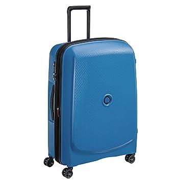 DELSEY Paris Belmont Plus Maleta, 76 cm, 102 Liters, Azul (Bleu Cyan): Amazon.es: Equipaje