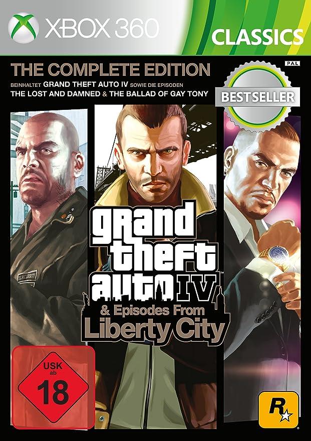 Grand Theft Auto IV Complete Edition Classics - Xbox 360 ...