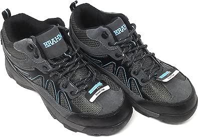 Brahma Karen Women's Grey Steel Toe Work Boots