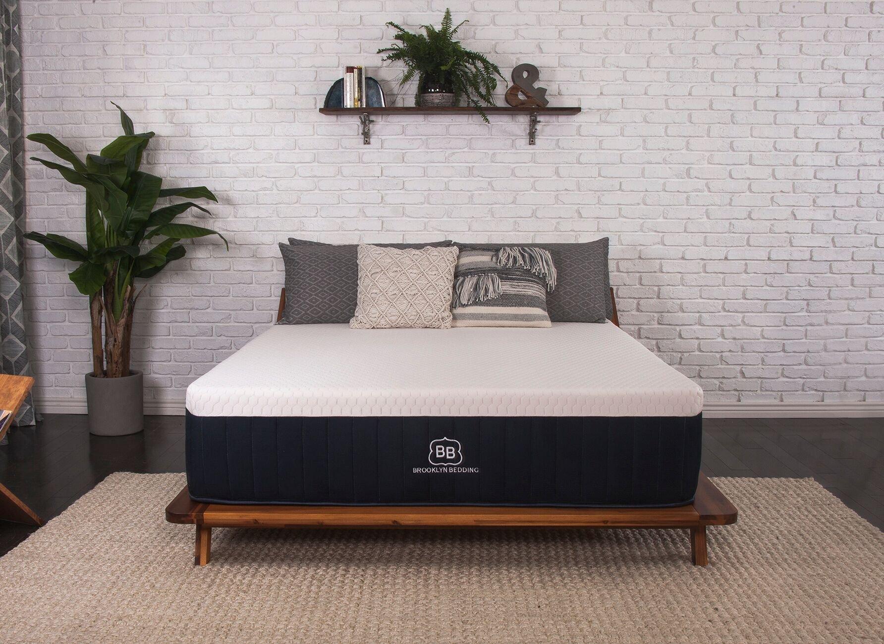 Brooklyn Aurora 13'' Luxury Cooling Gel Hybrid Mattress, Cal King Medium by Brooklyn Bedding
