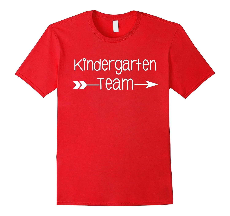 Cute KINDERGARTEN TEAM 1st day of school son or daughter tee-Art