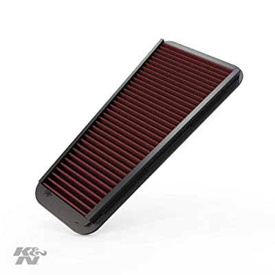 K&N Engine Air Filter: High Performance, Premium, Washable, Replacement Filter: 2002-2015 Toyota Mid-size Truck and SUV V6 (4-Runner, Tacoma, Hilux, Land Cruiser, Prado, FJ Cruiser), 33-2281: Automotive