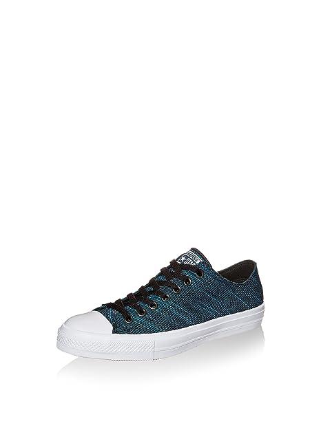 Converse Chuck Taylor All Star II Knit Ox in blau 151091C   everysize