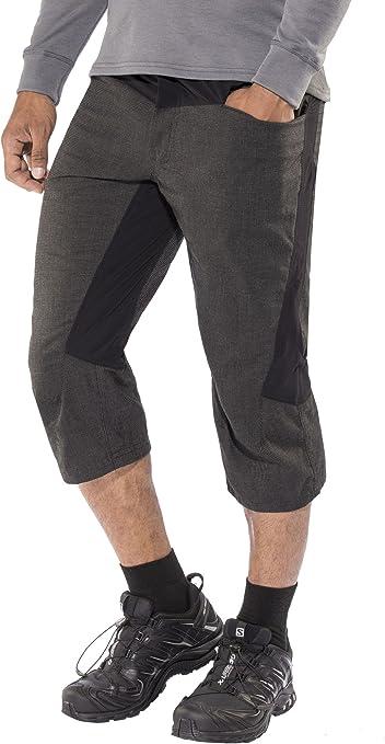 MILLET Battle Roc – Pantalones 3/4 de Escalada para Hombre, Hombre, Color Negro, tamaño XL