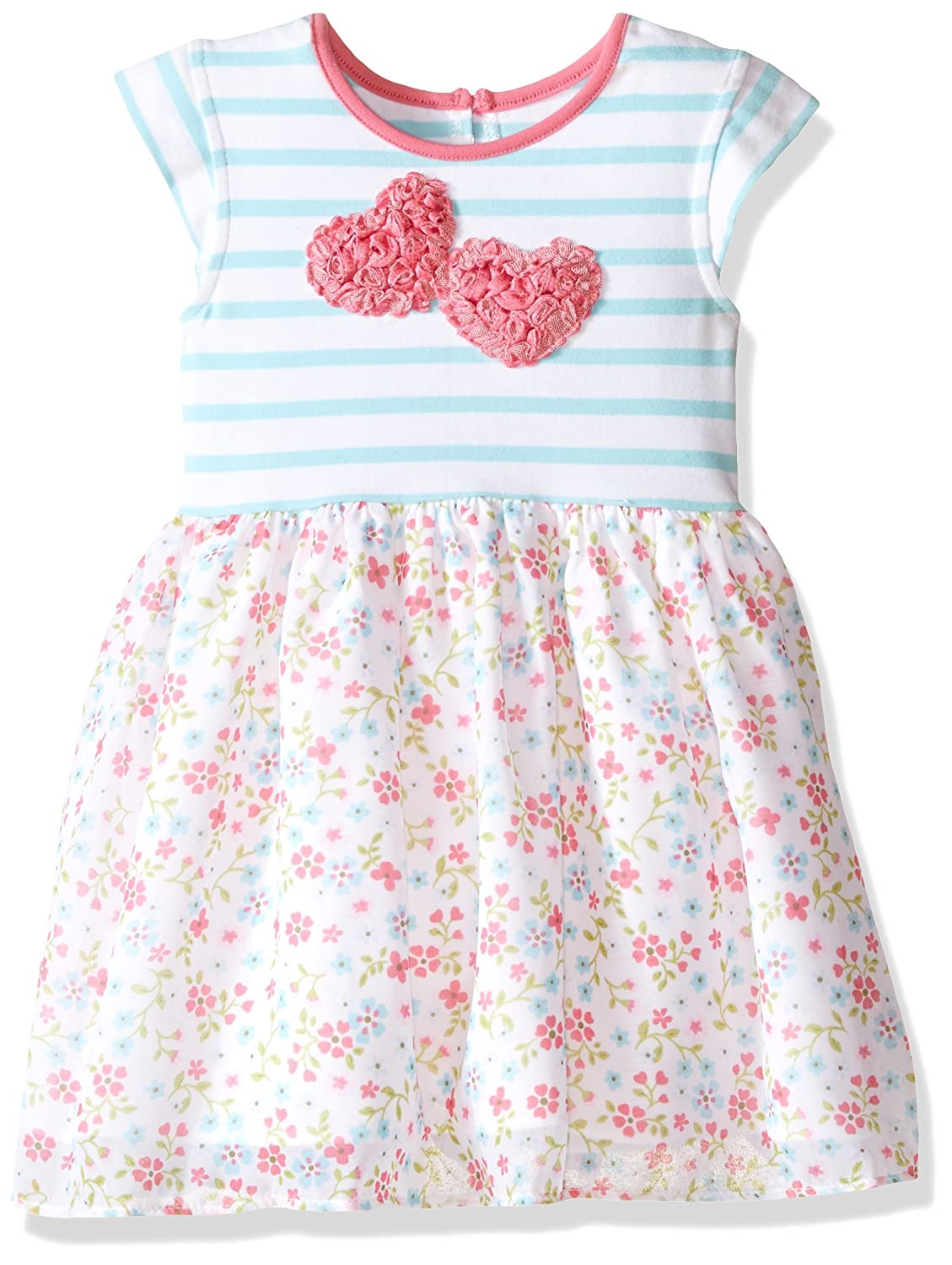 Marmellata Little Girls' Heart Knit Play Dress