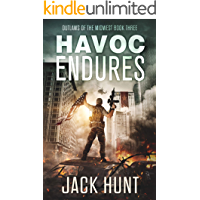Havoc Endures: A Post-Apocalyptic EMP Survival Thriller (Outlaws of the Midwest Book 3) book cover