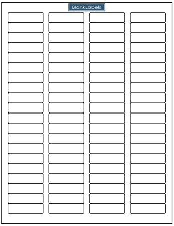 AmazonCom   Address Labels   Sheets Of Compatible With