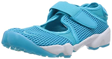 finest selection ce45d 9f53a Nike Womens Wmns Air Rift BR, GAMMA BLUE BLUE LAGOON-WHITE, 6