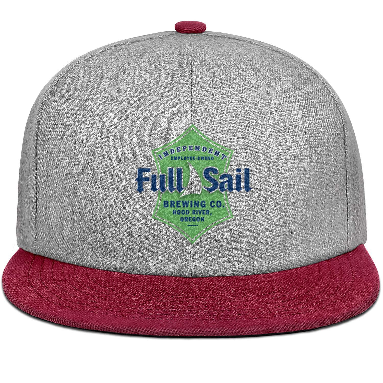 SHUPIA Full Sail Brewing Company Mens Womens Wool Baseball Cap Adjustable Snapback Dad Hat