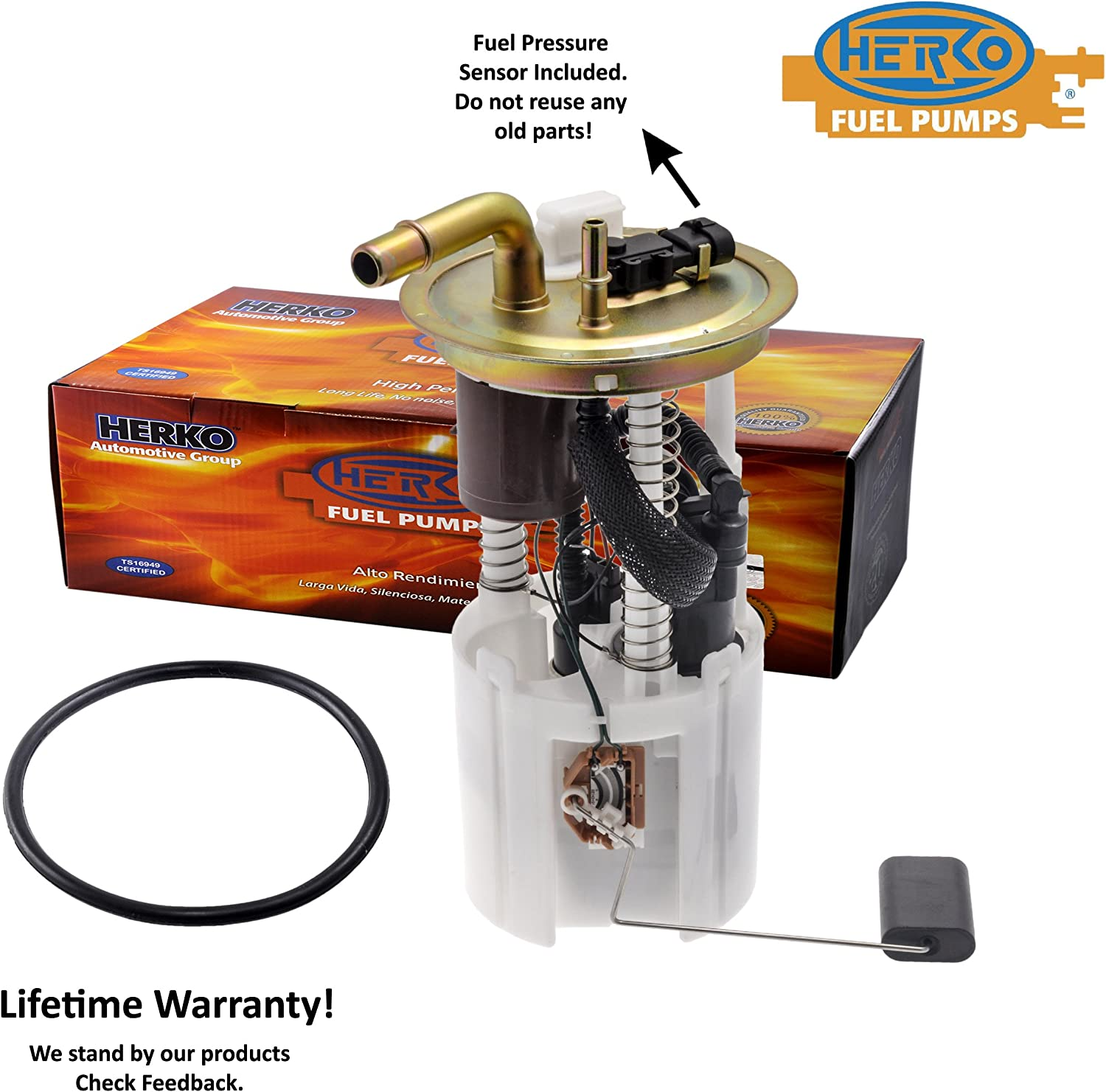 Electric Fuel Pump Module Assembly Herko Premium High Performance 144GE