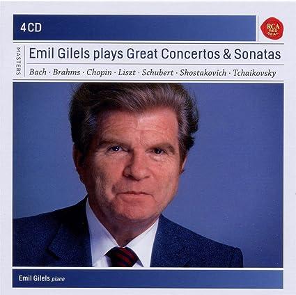 Emil Gilels Plays Concertos & Sonatas