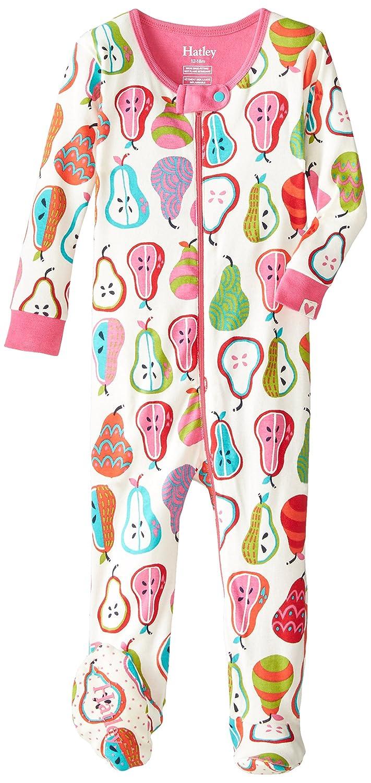 Hatley Infant Footed Coverall-Harvest Pears, Pijama para Bebés, Blanco 18-24 Meses: Amazon.es: Ropa y accesorios