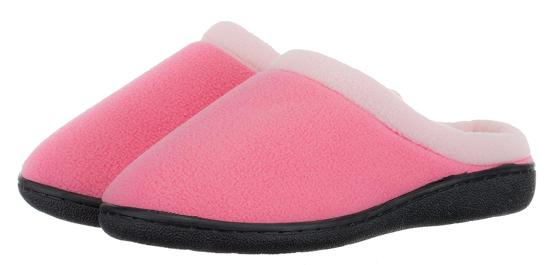 BRANDSSELLER Damen Hauspantolette Hausschuh Pantoffel Schlupp - Memory Foam Innensohle und TPR-Sohle - Farbe: Schwarz - Größen: 39 wT9XbZHCjh