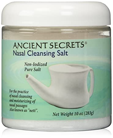 Health & Beauty Ancient Secrets Nasal Cleansing Pot Salt 8 Ounce Carefully Selected Materials Bath & Body