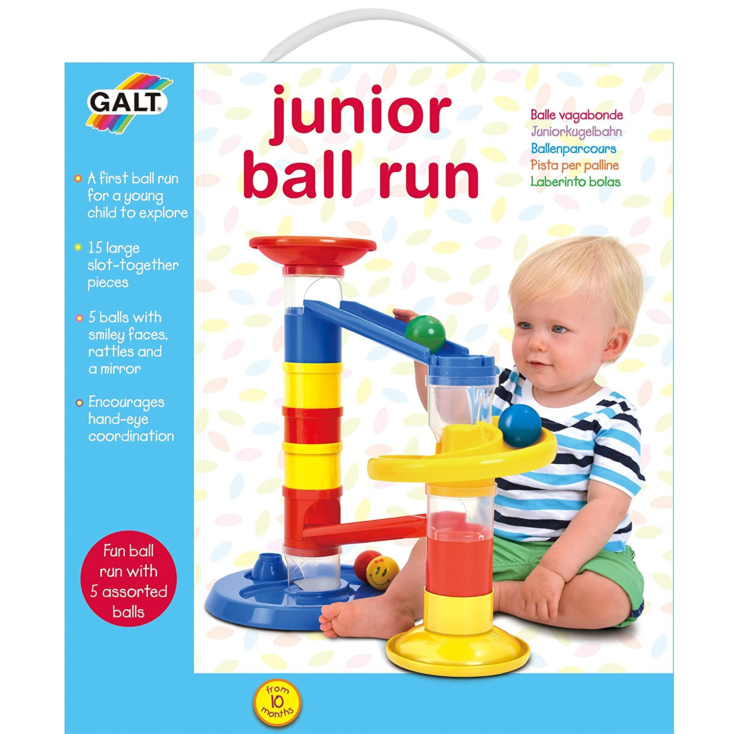 Galt Toys Junior Ball Run Amazon Baby