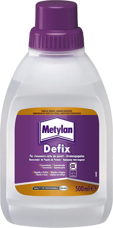 Metylan Defix Liquido Distaccante Per Rimuovere Carte Da Parati E Asportare Pitture Murali A Tempera 500 Ml Amazon It Fai Da Te