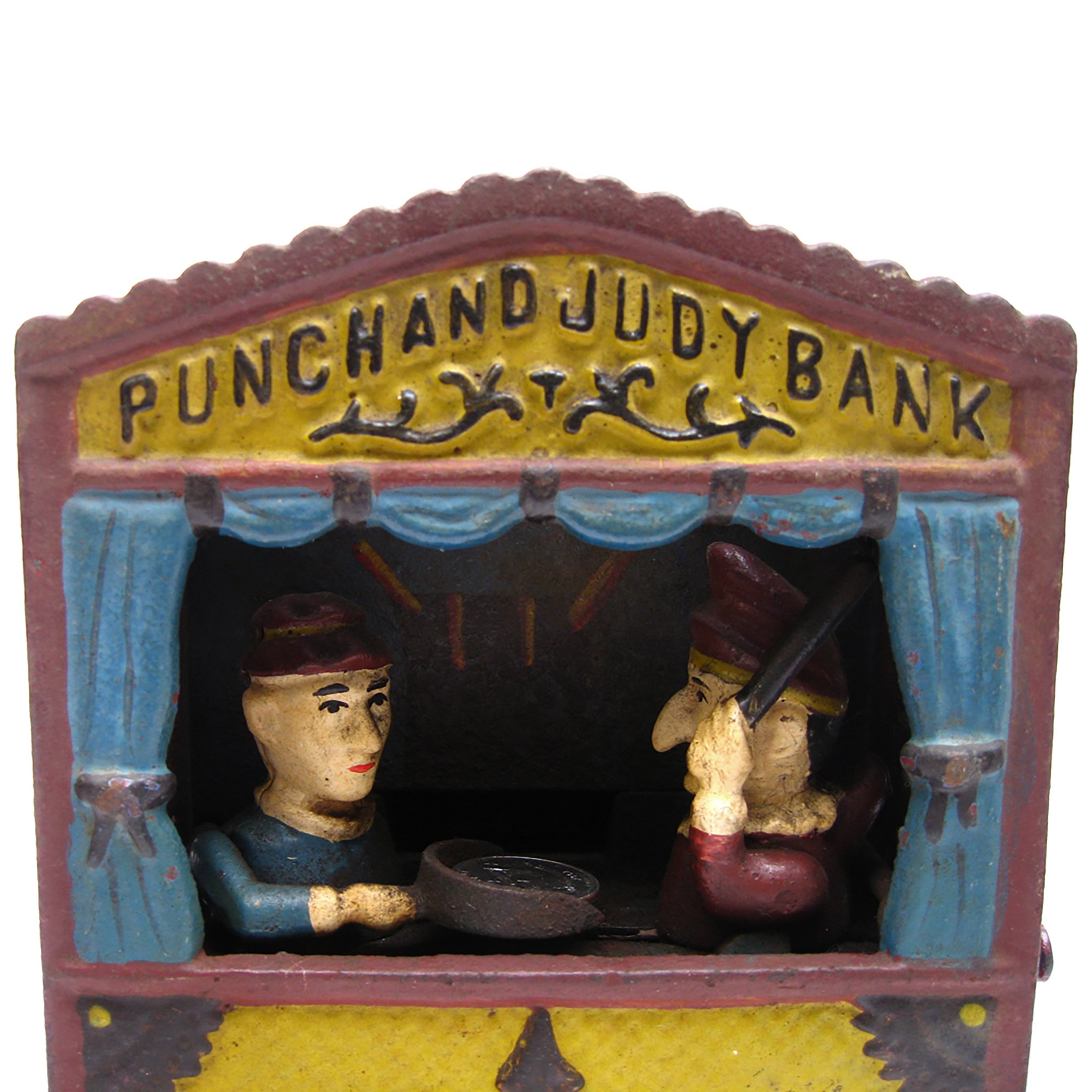 Design Toscano Punch and Judy Theater Collectors' Die Cast Iron Mechanical Coin Bank by Design Toscano (Image #3)