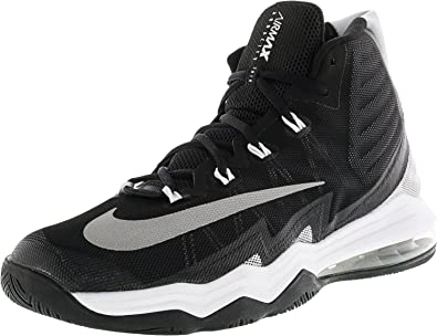 NIKE Men's Air Max Audacity 2016 Basketball Shoe Black/Reflect  Silver/White/Platinum