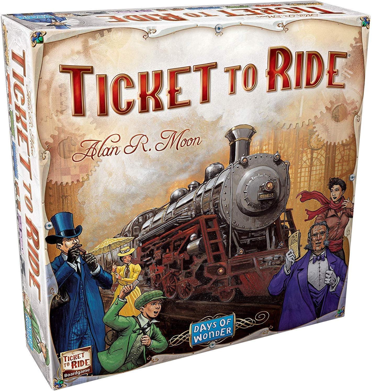 Ticket to Ride Europe. Juego de mesa de estrategia sobre ...