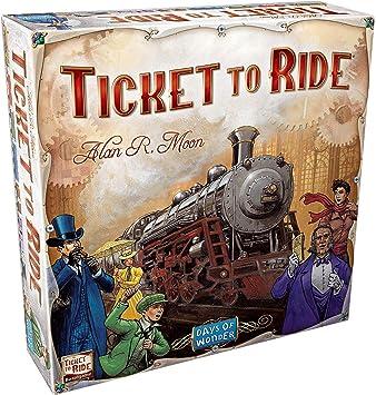 Ticket to Ride Europe. Juego de mesa de estrategia sobre ferrocarriles (en inglés): Amazon.es: Juguetes y juegos