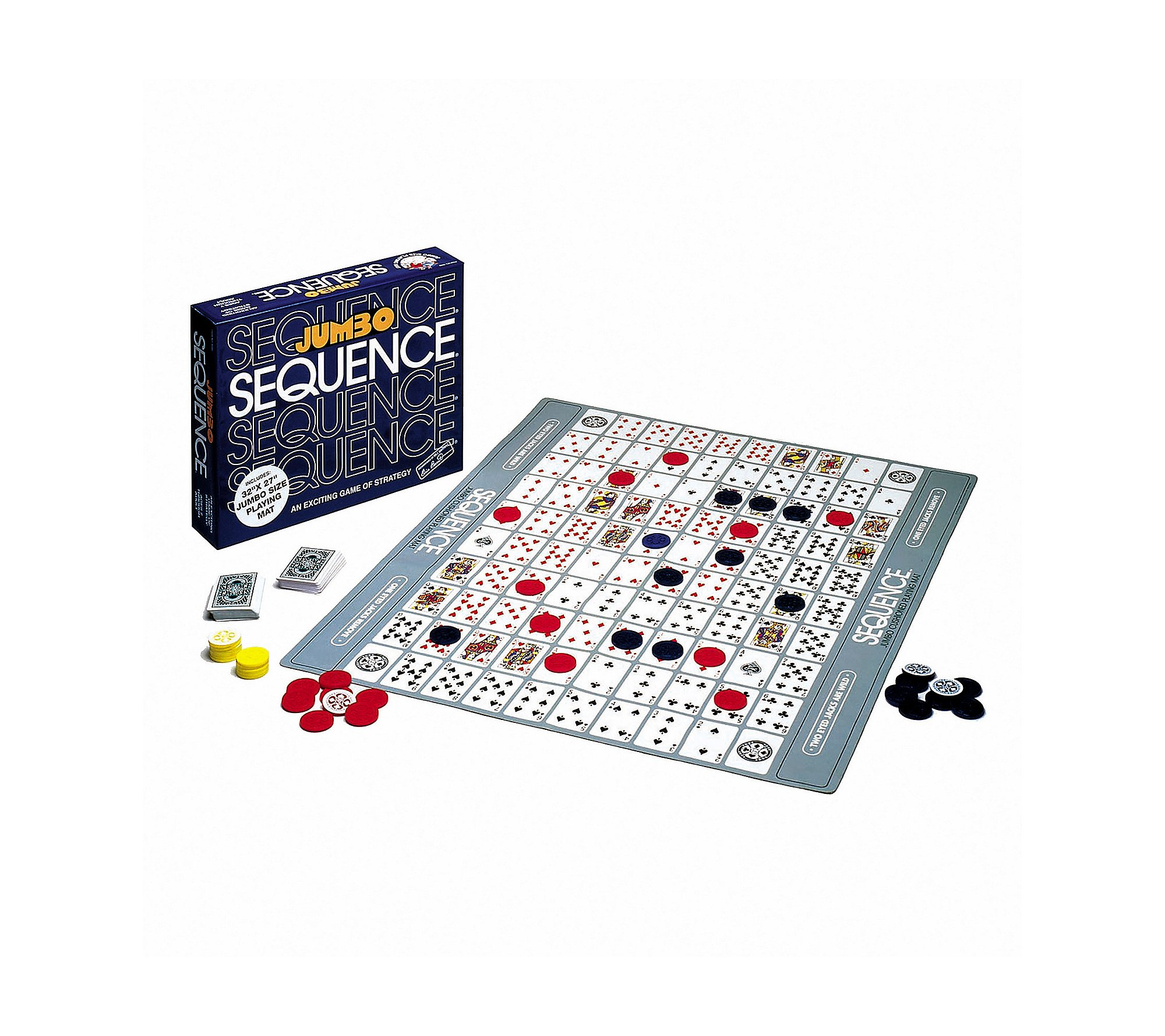 Jumbo Sequence Strategy Game by University Games