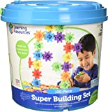 Learning Resources Gears! Gears! Gears! Super Building Toy Set, 150 Pieces, Ages 4+