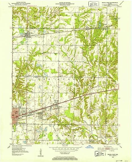 Amazon Com Yellowmaps Brazil East In Topo Map 1 24000 Scale 7 5