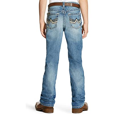 Ariat Boys' B4 Bonner Low Rise Relaxed Fit Jeans Boot Cut - 10021856
