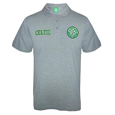Celtic FC - Polo oficial para hombre - Con el escudo del club ...