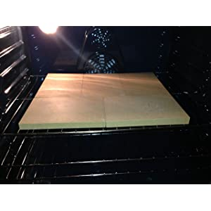 "Dough-Joe® 15"" x 18"" Pizza and Baking Stone (5-piece set)"