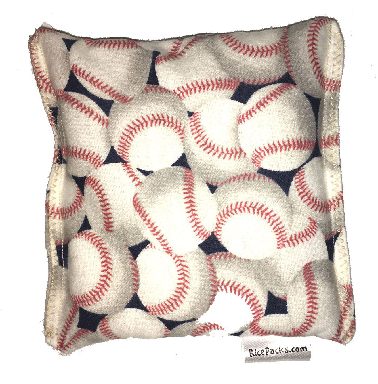 Baseball 2 Boo-Boo Bags Hot/Cold Packs Reusable Ouchee Heat Packs Hot Cold Pack Microwave Heating Pad Reusable Ice Pack , Hot Therapy, Cold Therapy, Rice Pack, Booboo Pillow