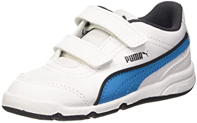 0bbe2a6360 Puma Stepfleex FS SL V, Kinder - Unisex Turnschuhe, Weiß - Bianco/Atomic