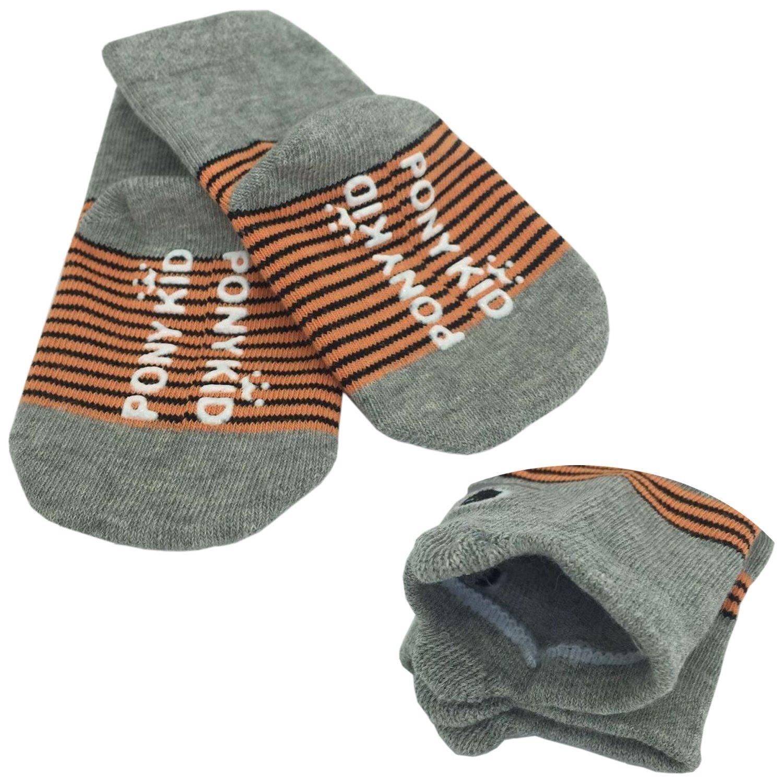 FlyingP Baby Socks 5 Pairs Anti Skid Slip Socks Non Skid Ankle Cotton Socks Baby Walker Grip Socks for 12-36 Months Toddler and Infants by FlyingP (Image #8)
