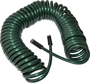 Plastair SpringHose PUW875B94H-AMZ Light Polyurethane Lead Free Drinking Water Safe Garden Hose, Green, 1/2-Inch by 75-Foot