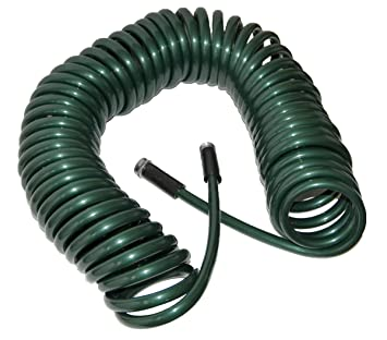 Plastair SpringHose PUW875B94H AMZ Light Polyurethane Lead Free Drinking  Water Safe Garden Hose, Green