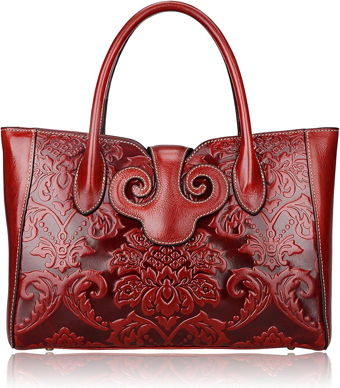 PIJUSHI Floral Handbags...