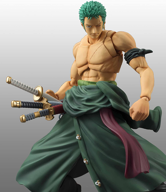"Anime One Piece VAH Roronoa Zoro 7/""//18cm PVC Action Figure Toy Gift"