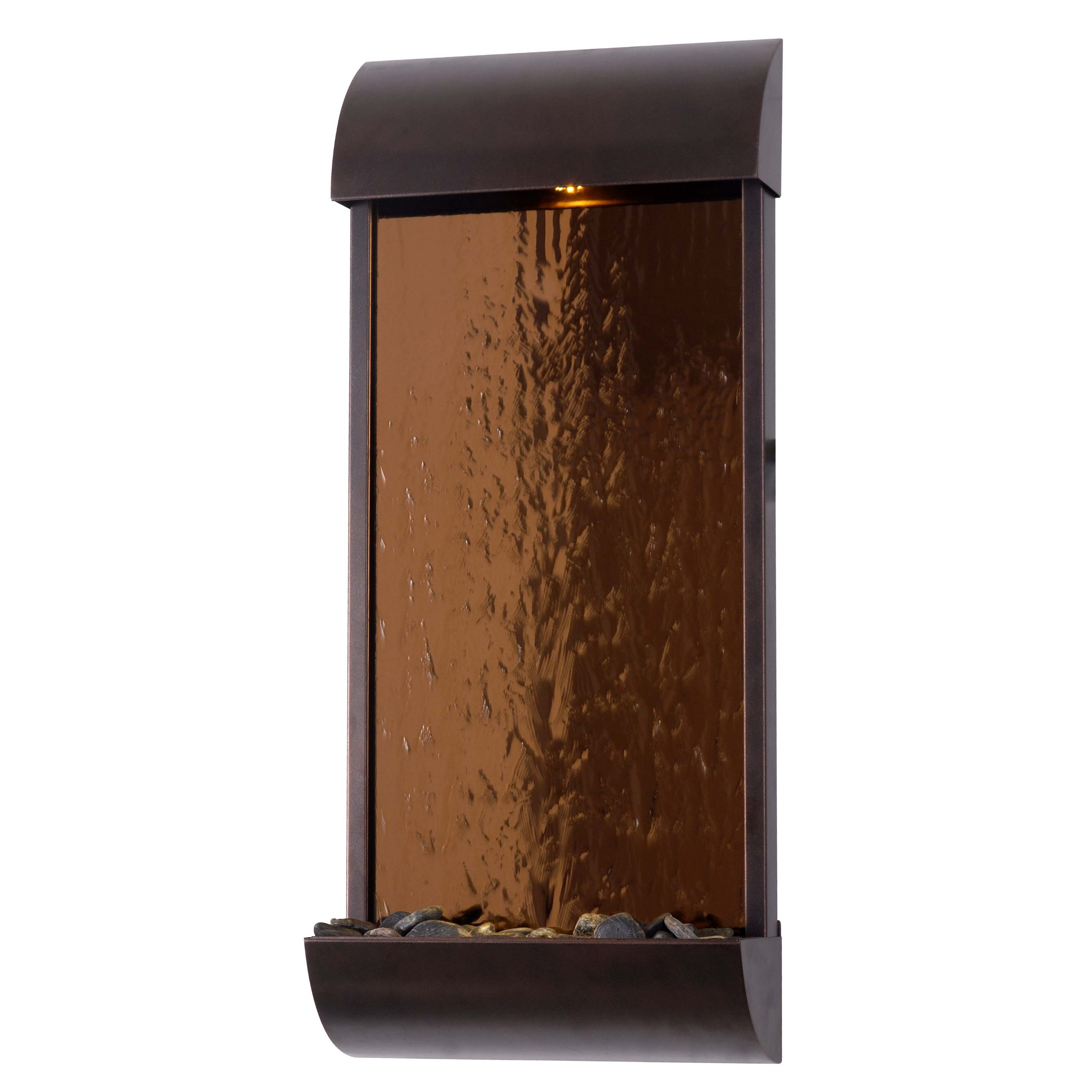 Kenroy Home 50048BRZ Aspen Wall Fountain, Bronze Finish with Copper Mirrored Face by Kenroy Home