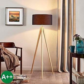 Lampenwelt Dreibein Stehlampe \'Mya\' (Für Kinder, Junges Wohnen) in ...