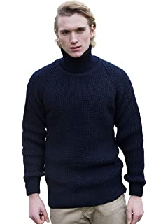 25a3963483f Original Montgomery Men's Merino Wool Submariners Sweater at Amazon ...