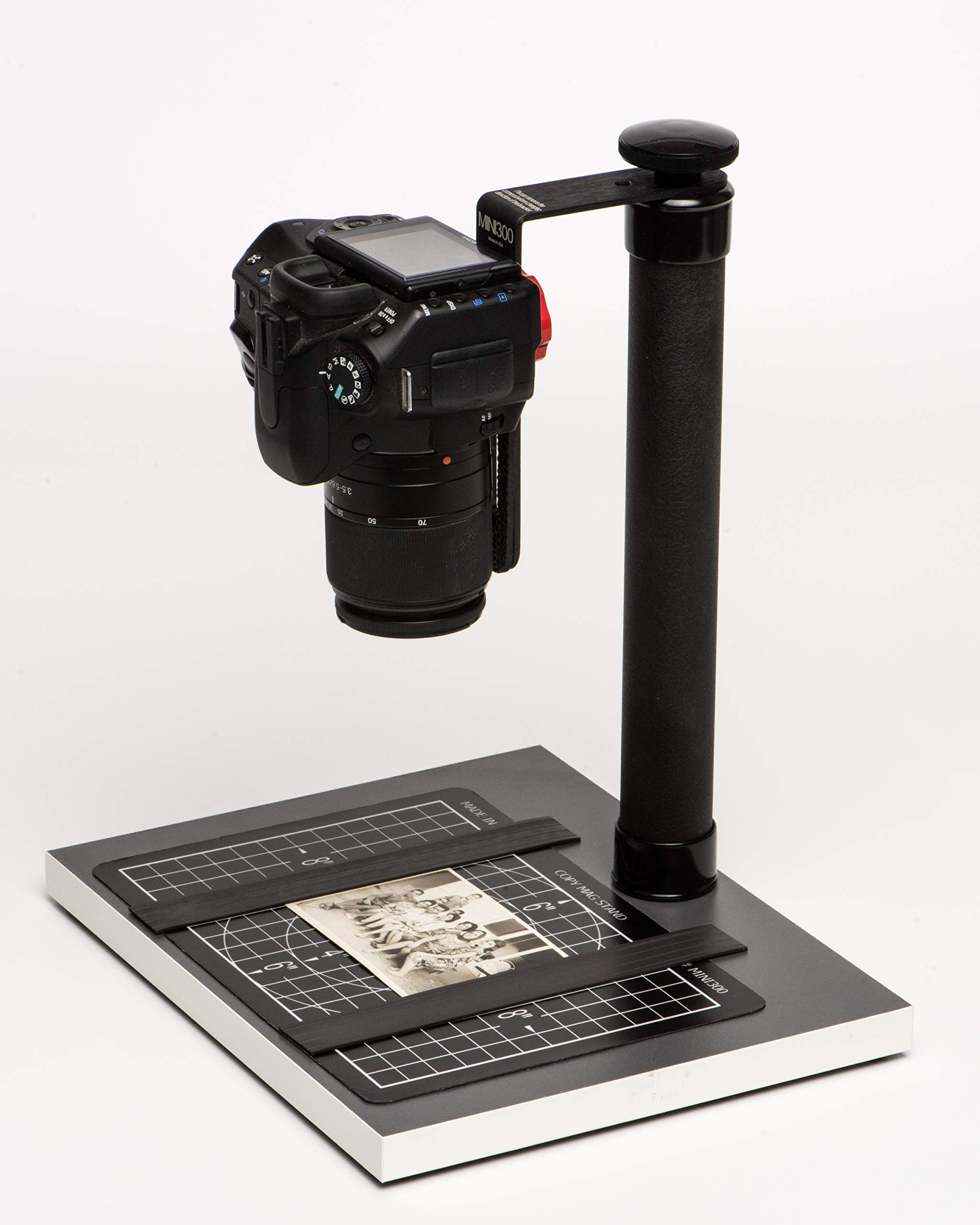 COPY STAND # MINI300, A Compact & Mini Tool for Digitizing Documents, Photos, or Small Objects with Today's SLR Super Megapixel Cameras by Stand Company (Image #4)